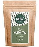 Té blanco Pai Mu Tan orgánico 100 g - recogido a mano - suave, fragante y aromático - certificado de té orgánico de comerico justo - cultivo de té sostenible