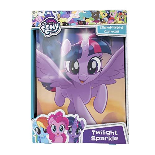 My Little Pony illuminata luce notturna–Rubinetto attivato Twilight Sparkle lampada da comodino