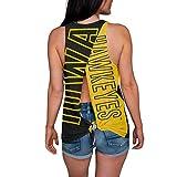 NCAA Iowa Hawkeyes Womens Tie Breaker Tank Top ShirtTie Breaker Tank Top Shirt, Team Color, Small