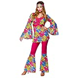 Feeling Groovy Hippie - Adult Costume Lady: SMALL