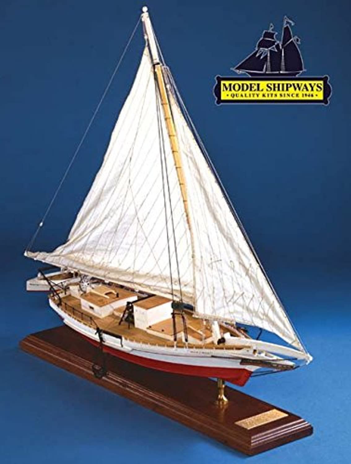 ventas calientes MODEL EXPO Model Shipways Willie Bennett Bennett Bennett Skipjack Wood 1 32 Scale Lenght 61cm Height  41 cm MS2032 Model Kit  ahorra hasta un 70%
