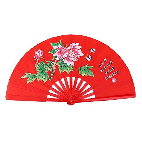 Asixx Abanico Chino, Tai Chi Arts Fan o Kung Fu Bamboo Fan,...