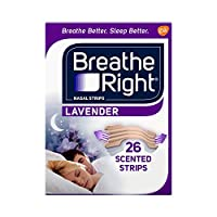 Breathe Right Lavender Tan Nasal Strips - 26 Count by Breathe Right