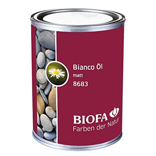 Biofa 8683 - Aceite de parqué para suelos de madera de roble y madera de arce (1 L)