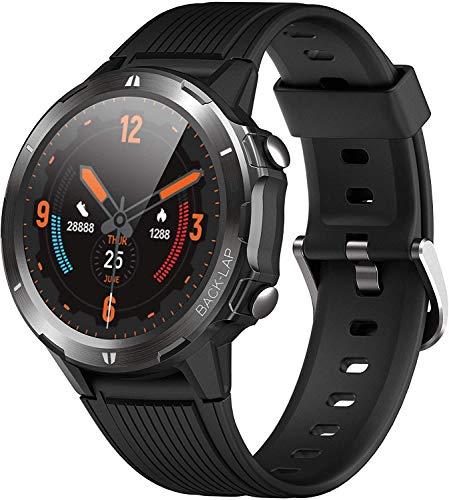 orit Reloj Inteligente, Smartwatch Hombre Mujer Impermeable 5ATM Pulsera Actividad de Fitness con Pulsómetro, Cronómetros, Calorías, Monitor de Sueño, odómetro Pulsera, para Android e iOS