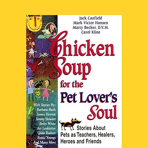 『Chicken Soup for the Pet Lover's Soul』のカバーアート