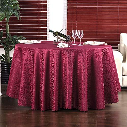 LIUJIU Mantel de mesa de café para decoración de bodas, 1,4 x 1,8 m
