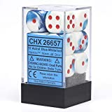 Chessex Dice d6 Sets: Gemini Astral Blue /...