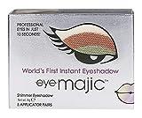 Eye Majic - Sombra de ojos instantánea - Maquillaje profesional en 10 segundos - Pack de 5 - Hummingbird - 011