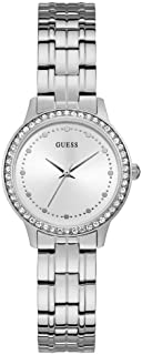 Guess Chelsea Womens Analog Quartz Watch with Stainless Steel Bracelet W1209L1