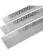 24 m aluminium sokkelrail, breedte profiel voor gevelisolatie WDVS VWS EPS XPS