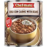 Chef-mate Beef Chili, Canned Beans with Meat, 6 lb 10 oz (#10 Can Bulk)