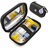 Casematix Insulated Asthma Inhaler Travel Bag Case for Children and Adults Fits Inhaler, Aero Chamber Spacer and More - Includes CASE ONLY