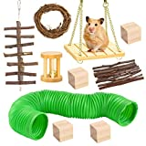 BK Fudid Hamster Chew Toys, Pet Guinea Pig Bunny Tooth Chew Toys Wooden Pine Guinea Pigs Rats Chinchillas Toys Best Choose for Gerbils, Rats, Birds, and Other Small Pets