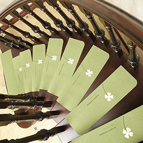 Jenify Antiscivolo Scala Tappeto tappeti Scale Treads Set di 13 Tappeto battistrada (8'X 21.6') Stair Mats Antiscivolo Indoor,M7