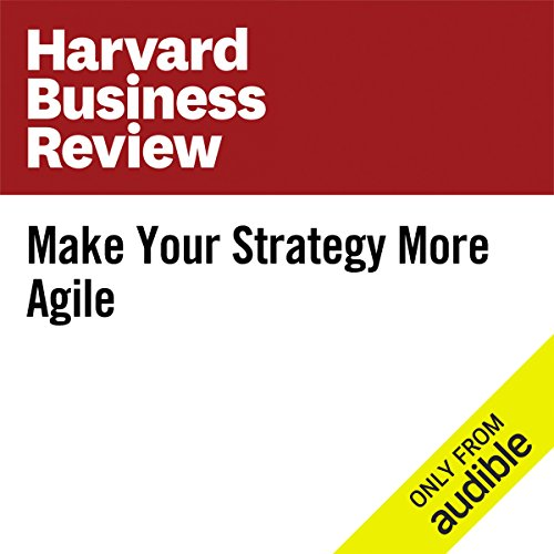 Make Your Strategy More Agile audiobook cover art