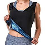 DEYACE Sauna Sweat Vest for Women, Ultra-Thin Extremely Effective Fabric, Heat Trapping Workout Tank Top
