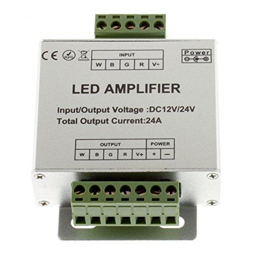 RGBW signaalversterker 12-24V 24A