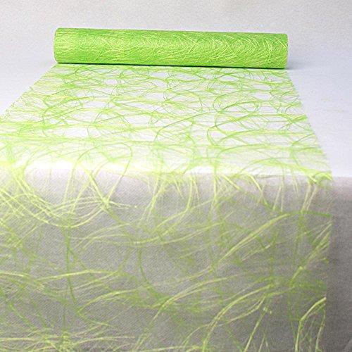 SIZOWEB ® Vlies ( Dekorolle z.B.Tischläufer, Tischband ) 30cm/5m in grün