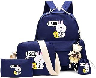 school Backpack set - Blue