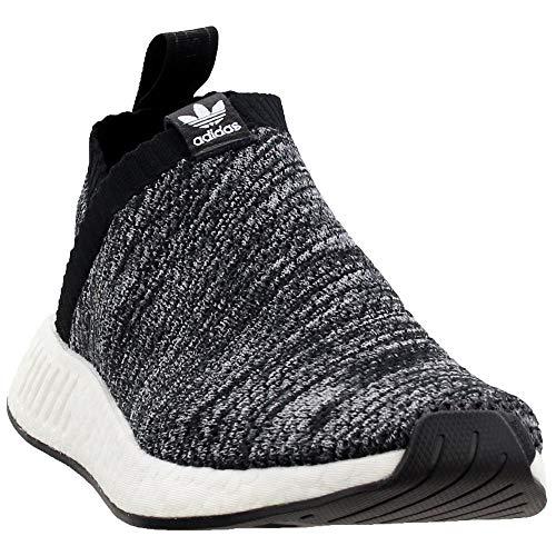 adidas Mens United Arrows & Sons NMD_Cs2 Primeknit Casual Sneakers, Black, 10