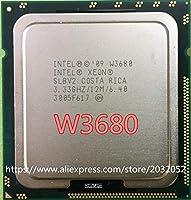 W3680 12M/3.33G/Six Core CPU Processor SLBV2 LGA1366 Is equal to the X5680 I7 980 (working 100%)