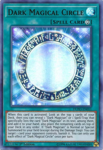 Yu-Gi-Oh! - Dark Magical Circle - DUPO-EN051 - Ultra Rare - 1st Edition - Duel Power