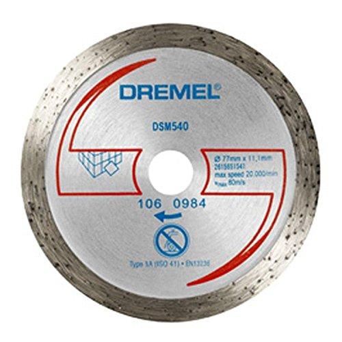 Disco diamante para azulejos Dremel Ø 77 mm