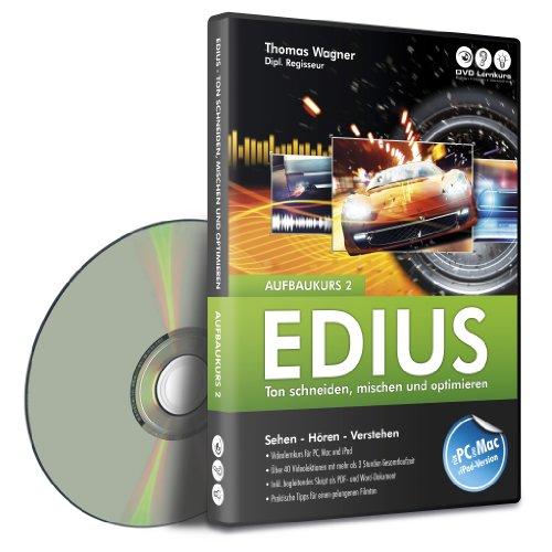Preisvergleich Produktbild Edius - Aufbaukurs 2 - Ton schneiden,  mischen und optimieren