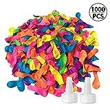 Funny House 1000 Pcs Globos de Agua, Colorido Magic Water Balloons Bombas de Agua