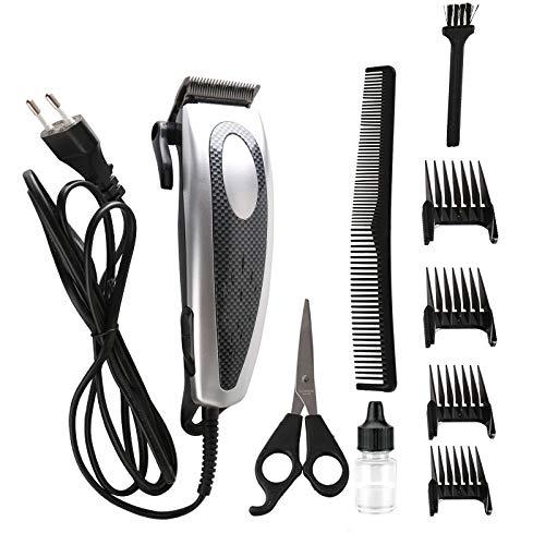 Draadloze Tondeuse Voor Mannen Professional Hair Trimmer Kit Oplaadbare Head Shaver Voor Kinderen En Baard, Hoofd, Lichaam 9 in 1