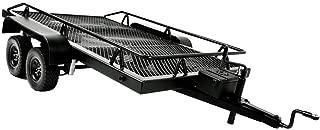 Prettyia 1/10 Scale RC Car Flatbed Trailer Parts for RC Crawler Axial SCX10 D90 Traxxas TRX4, 13.8 x 25.2 Inch