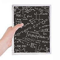 科学計算の限界式の姿を求めて 硬質プラスチックルーズリーフノートノート