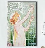 YOUCAIHUA Leinwand Poster Absinth Blanqui HD Home Decor