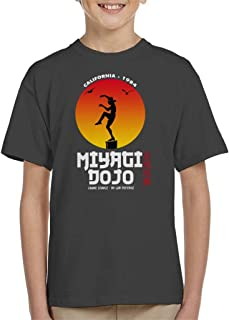 Cloud City 7 Miyagi Dojo California 1984 Karate Kid Kid's T-Shirt