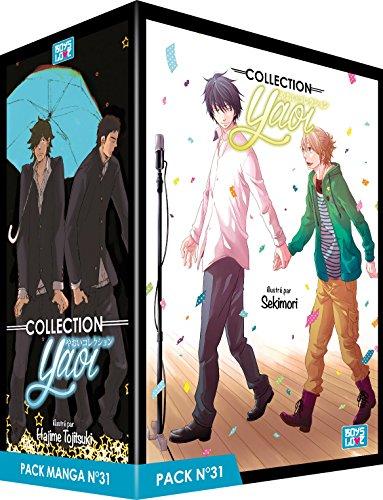 Pack Boy's Love - Partie 31 - 5 Mangas (Livres) - Yaoi