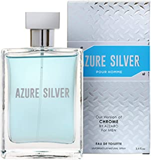 Mirage Diamond Collection Azure Silver EDT, 100ml