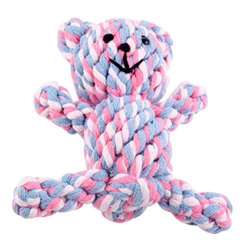 Dafang Knoten Hundespielzeug, Hochwertig aus Baumwolle & Leinen Ökologisches Spielzeug für Kleine + große Hunde, Baumwolle ungiftig und geruchlos Robust Besser,Multicolored