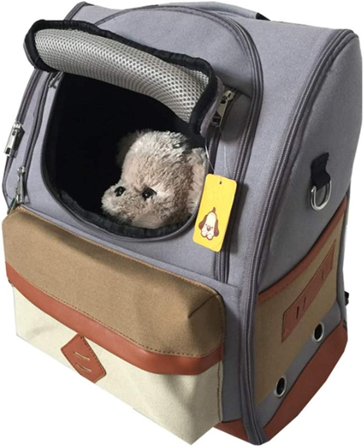 Pet Carrier Bags Handbags Travel Backpack Gear, SoftSided Travel Tote Shoulder Sling Bag for Dogs Cats, A