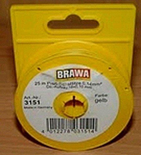 Abrollspule gelb 25m BRAWA 3151
