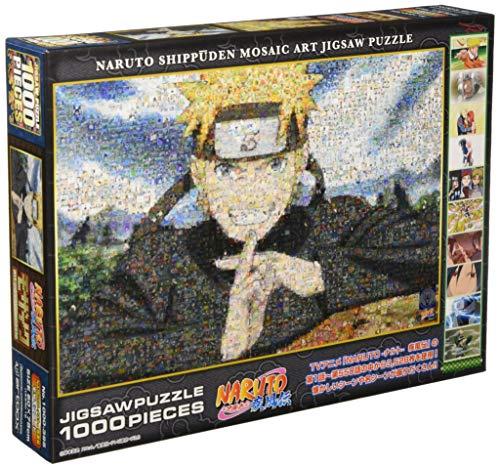 Naruto Shippuden Puzzle 1000 pièces Mosaic Art 1000-395 (50cmx75cm)