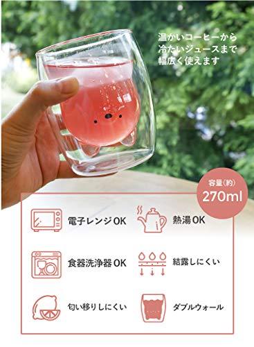 CBJAPAN(シービージャパン)『耐熱アニマルダブルグラス(4573306-863793)』
