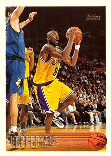 1996-97 Topps Basketball #138 Kobe Bryant Rookie Card