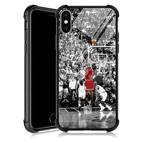 iPhone XR Case, Basketball Legend YKL0A001 iPhone XR Cases for Men Women Fans,Design Pattern Back Bumper Shockproof Anti Scratch Reinforced Corners Soft TPU Case for iPhone XR