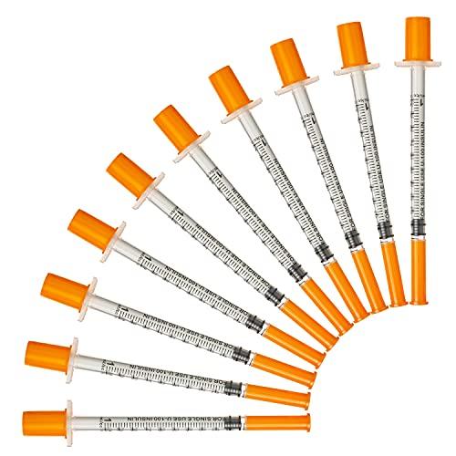 1ml/cc 30G Kunststoff Mehrzweck-Messwerkzeuge, einzeln verpackt (100Pack)