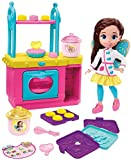 Fisher-Price Nickelodeon Butterbean's Café Magical Bake and Display Oven and 11-inch Doll, Musical Kitchen Playset with Lights Sounds and More, Makes a Great Gift for 3 to 5 Year-Olds