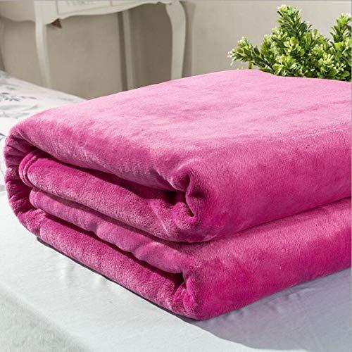 FRTU Mantas para Sofá Cama,sábanas y colchas de Invierno, Mantas de vellón de Coral Suave, Mantas de sofá, Mantas de Yoga, Mantas de Aire acondicionado-A16_200 * 230c