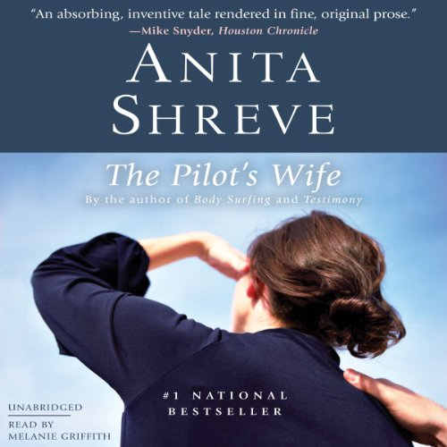 The Pilot's Wife audiobook cover art