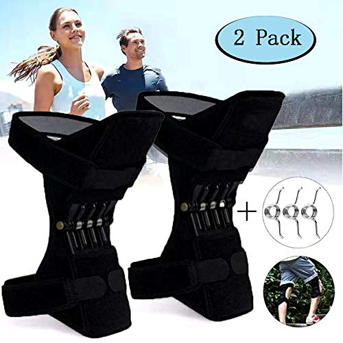 Joint Support Knee Pads - Power Lift Knee Stabilizer Pads - Powerful Rebound Spring Force Knee...