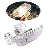 FJJ-DENG, Gant Voiture Boîte de Rangement Lumière Lampe 1J0 947 301 Ajustement for Passat B5POLO Touran Travail de Nuit Lampe Compartiment (Taille : Transparent)
